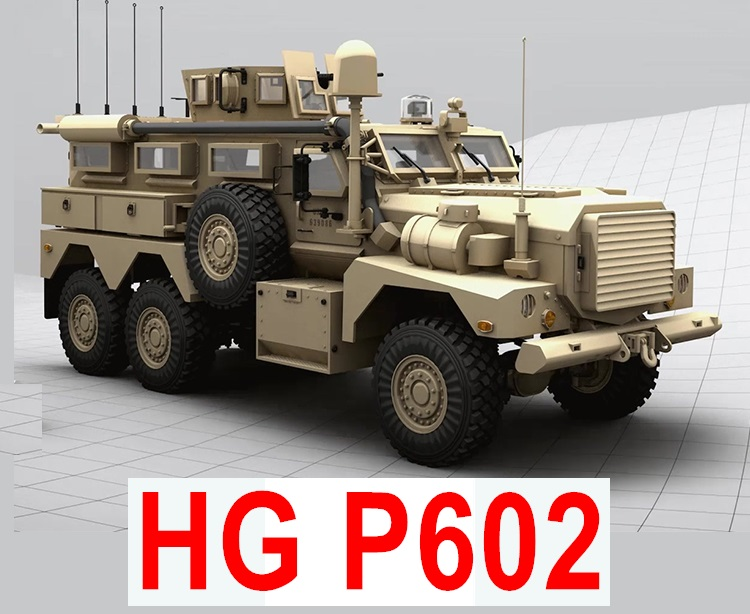 HG P602 HEMTT RC Truck