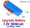 Wltoys 124016 Upgrade 3000mah Lipo Battery Packs. Run More time and More Power.