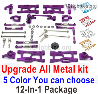 Wltoys 124018 Upgrade ALL Metal Kit. 5 Color you can choose.
