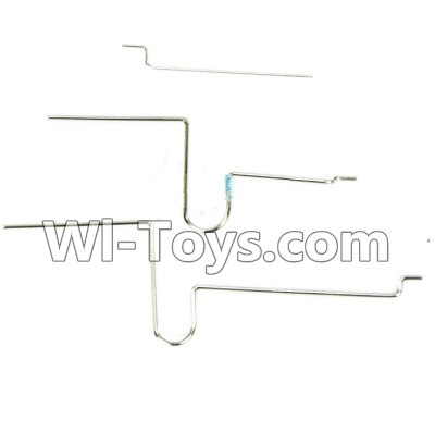 Wltoys F929 Plane Parts-Elevator Servo Pull Rod Wire(Total 3pcs),Wltoys F929 Parts