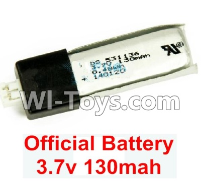 Wltoys F929 Plane Parts-Battery Parts,Official 3.7v 130mah Lipo Battery Parts-1pcs,Wltoys F929 Parts