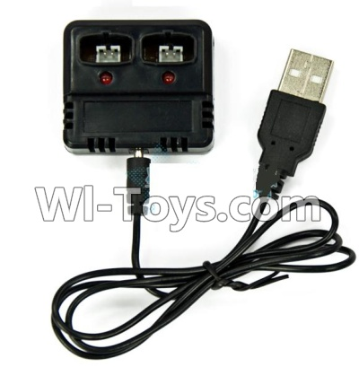 Wltoys F929 Plane Parts-Charger Parts-and balance charger,Can charge two battery at the same,Wltoys F929 Parts