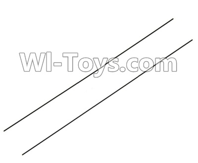 Wltoys F939 Plane Parts-Carbon Fiber Pull Rod Parts-2pcs,Wltoys F939 Parts