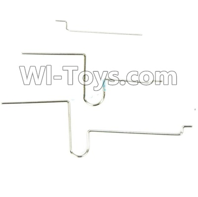 Wltoys F939 Plane Parts-Elevator Servo Pull Rod Wire(Total 3pcs),Wltoys F939 Parts