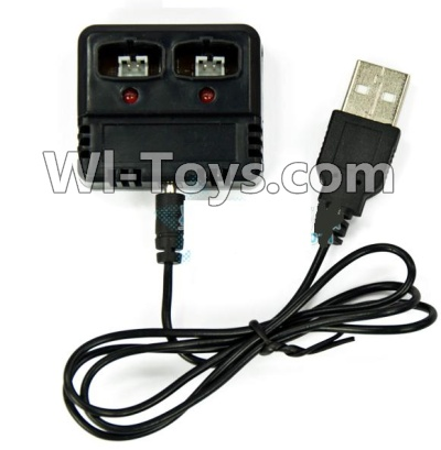 Wltoys F939 Plane Parts-Charger Parts-and balance charger,Can charge two battery at the same,Wltoys F939 Parts