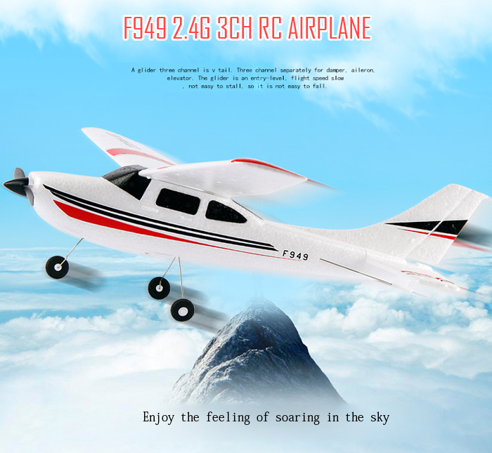 Wltoys F949 Plane Parts-RC Plane glider,Wl Toys F949 RC Fixed Wing Plane