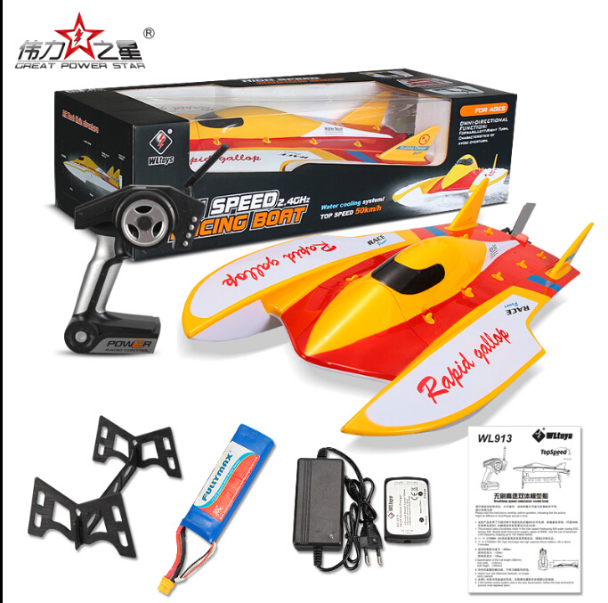 Wltoys WL913 RC Boat,Wltoys WL913 Boat Parts-brushless boat high speed Racing RC Boat