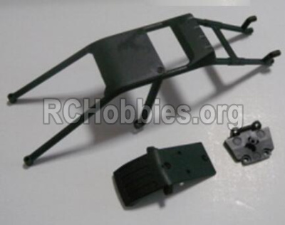HBX Survivor MT Parts-Anti-roll cage and Front anti-collision(Can only be used for 12811B car) Parts-12608