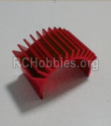HBX Survivor MT Parts-Motor Heatsink Parts-12616
