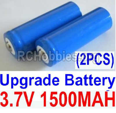 HBX 12811 Parts-Official 3.7V 1500mAH Battery(Li-ion Batteries)-2pcs Parts-12633