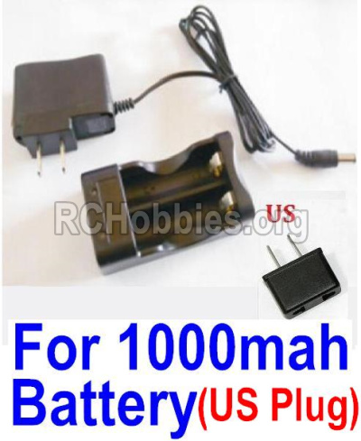 HBX Survivor MT Parts-Charge Box and Charger parts-25207(USA Standard Socket)-(Can only be used for 1000mah Battery) Parts