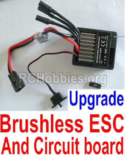 HBX Survivor MT Parts-Upgrade Brushless ESC and Receiver board together Parts-12216