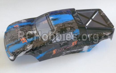 HBX Survivor MT Parts-Buggy Body shell,Car shell-Blue Parts-12686