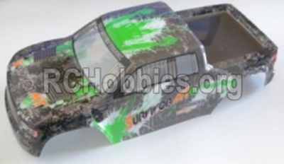HBX Survivor MT Parts-Truck Body shell,Car shell-Green Parts-12688