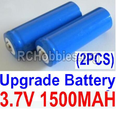 HaiBoXing HBX 12812 Parts-Battery Parts-Official 3.7V 1500mAH Battery(Li-ion Batteries)-2pcs Parts-12633