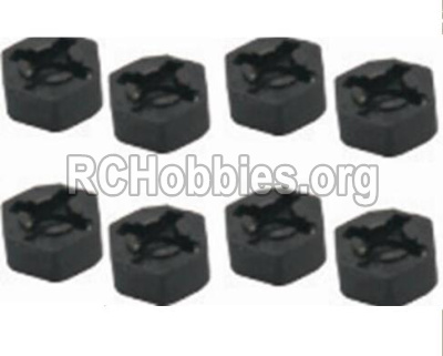 HaiBoXing HBX 12812 Parts-Hexagon Wheel Seat(4pcs) Parts-12010
