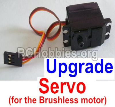 HaiBoXing HBX 12812 Parts-Upgrade Servo Parts-Upgrade 3-wire Steering Servo(Can only be used for the Upgrade brushless kit) Parts-12224