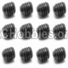 HaiBoXing HBX 12812 Parts-Screw Parts-Set Screw-3X3mm(12PCS) Parts-S016