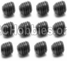 HaiBoXing HBX 12812 Parts-Screw Parts-Set Screw-3X4mm(12PCS) Parts-S109
