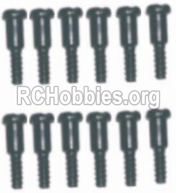 HaiBoXing HBX 12812 Parts-Screw Parts-Step Screws-3.5X4.5mm-3X4.6mm(12PCS) Parts-S152