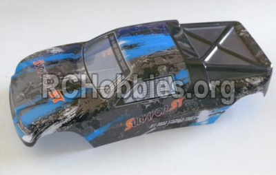 HaiBoXing HBX 12812 Parts-Truggy Body shell,Car shell-Blue Parts-12686