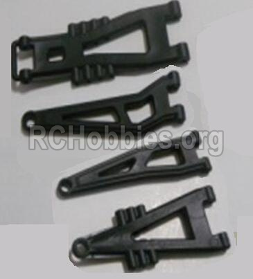 HBX 12813 Survivor MT Parts-Front And Rear Suspension Arms,Front And Rear Swing Arm(Total 4PCS) Parts-12603