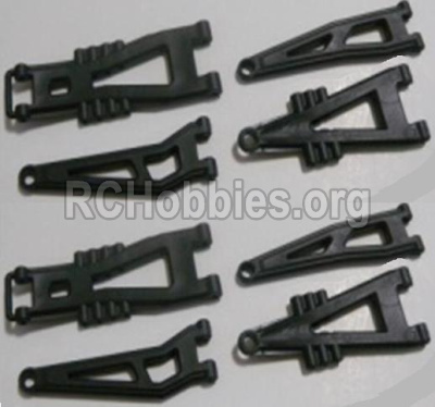 HBX 12813 Parts-Front And Rear Suspension Arms,Front And Rear Swing Arm(Total 8PCS) Parts-12603
