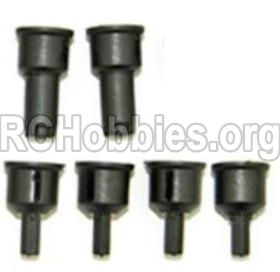 HBX 12813 Survivor MT Parts-Parts- Rear drive cup(2pcs) & Differential Cup(4pcs) Parts
