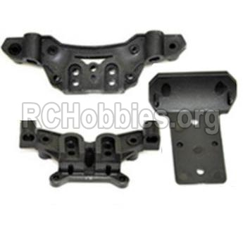 HBX 12813 Survivor MT Parts-Front and Rear shockproof board,Shock Absorbers board Parts