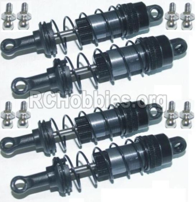 HBX 12813 Parts-Upgrade Meal Front and Rear Aluminium shock set(Total 4pcs) Parts-12203BT
