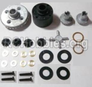 HBX 12813 Survivor MT Parts-Differentials Gear set Parts-12611R