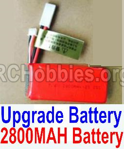 HBX 12813 Parts-Upgrade Battery Parts-Upgrade 2800mah Battery(1pcs)