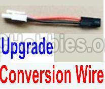 HBX 12813 Parts-Upgrade Battery Parts-Upgrade Conversion Wire Parts