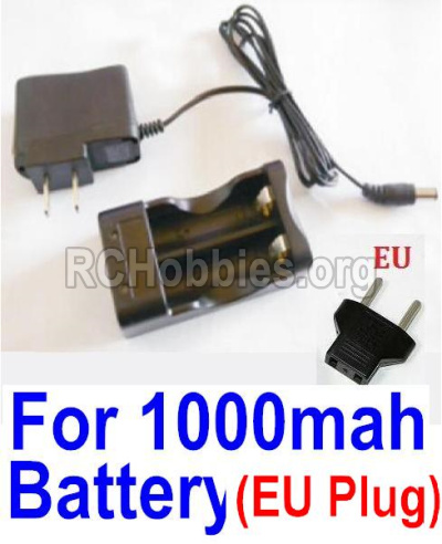 HBX 12813 Parts-Charge Box and Charger Parts-25206(Europen Standard Socket)-(Can only be used for 1000mah Battery)