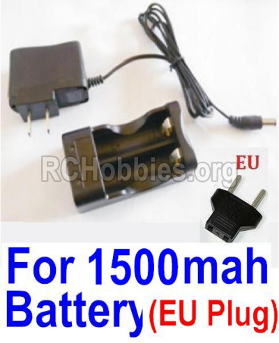 HBX 12813 Survivor MT Parts-Charge Box and Charger(Europen Standard Socket)-(Can only be used for 1500mah Battery) Parts-12641