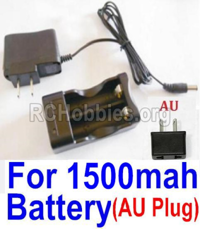 HBX 12813 Survivor MT Parts-Charge Box and Charger(Australia Standard Socket)-(Can only be used for 1500mah Battery) Parts-12643