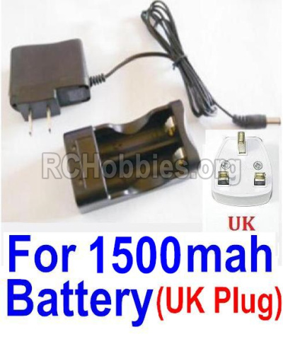 HBX 12813 Survivor MT Parts-Charge Box and Charger(United Kingdom Standard Socket)-(Can only be used for 1500mah Battery) Parts-12644