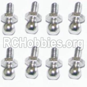 HBX 12813 Survivor MT Parts-Ball Studs(8pcs) Parts-H013