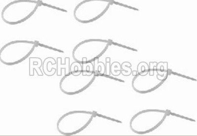 HBX 12813 Survivor MT Parts-Zip Ties-Small(8pcs) Parts-P011