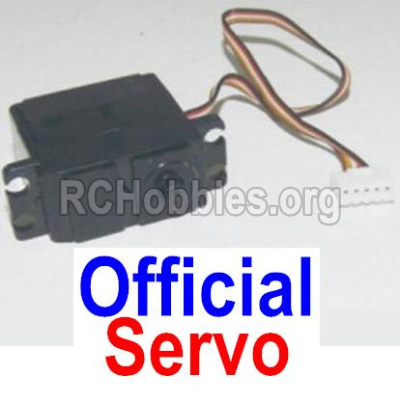 HBX 12813 Survivor MT Parts-5-wire Steering Servo Parts-12030
