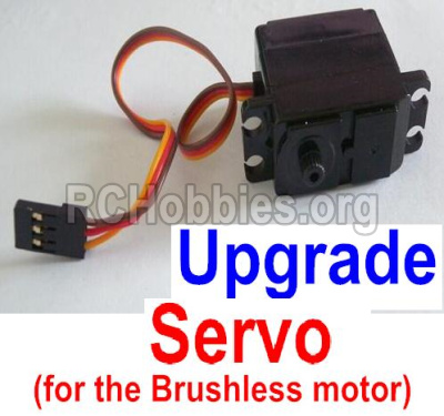 HBX 12813 Survivor MT Parts-Upgrade 3-wire Steering Servo(Can only be used for the Upgrade brushless kit) Parts-12224
