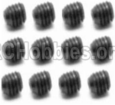 HBX 12813 Survivor MT Parts-Screw Parts-Set Screw-3X4mm(12PCS) Parts-S109