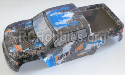 HBX 12813 Parts-Body shell cover Parts-Truck Body shell,Car shell-Blue Parts-12687