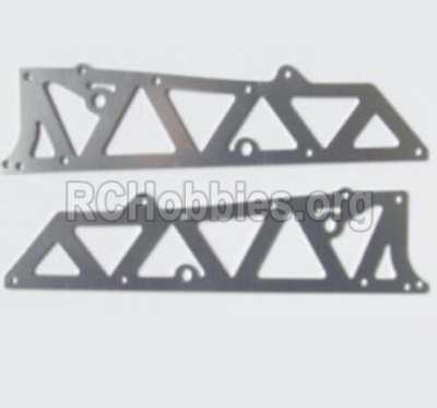 HBX 12881 VORTEX Parts-Aluminum Alloy Chassis Side Plates A Parts-12210