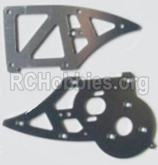 HBX 12881 VORTEX Parts-Aluminum Alloy Chassis Side Plates B Parts-12211