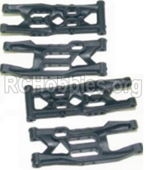 HBX 12881 VORTEX Parts-Front Bottom And Rear Bottom Suspension Arms,Front Bottom And Rear Bottom Swing Arm(Total 4PCS) Parts-12004