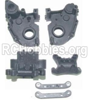 HBX 12881 VORTEX Parts-Gear Case & Suspension Mount Parts-12005P