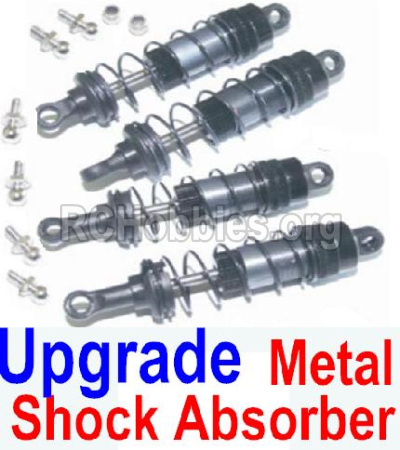 HBX 12881 VORTEX Parts-Upgrade Shock Absorber Parts-Upgrade Front and Rear Metal hydraulic shock absorber(4pcs) Parts-12203+12204