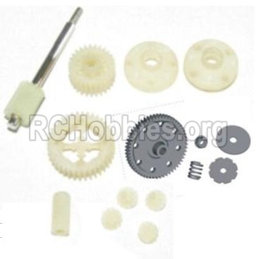 HBX 12881 VORTEX Parts-Parts-Spur Gear & Differential Gears Assembly Parts-12011P