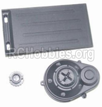 HBX 12881 VORTEX Parts-Battery Door & Motor Gear Cover Parts-12012
